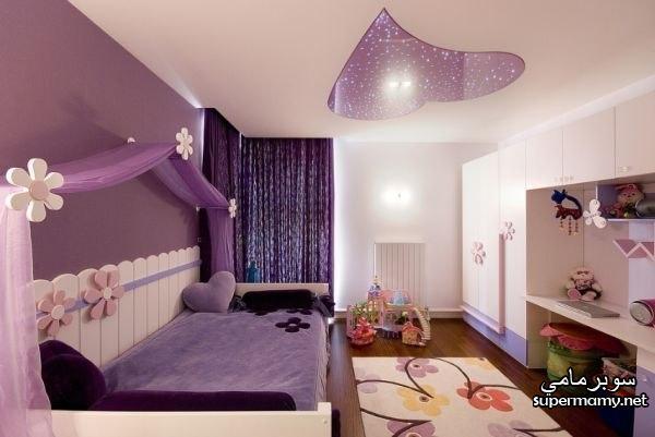 صور ديكور جبس غرف نوم بنات , اجمل ديكورات جبسية لغرف البنات