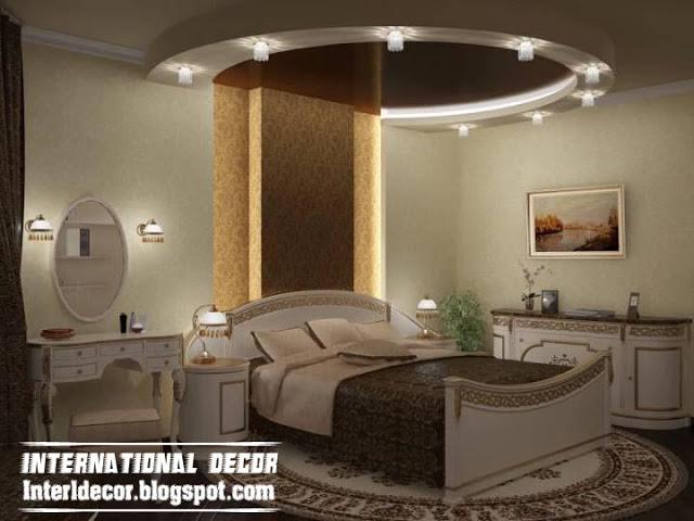 صور ديكور جبس غرف نوم كويتية , تشكية غرف كويتية فخمة