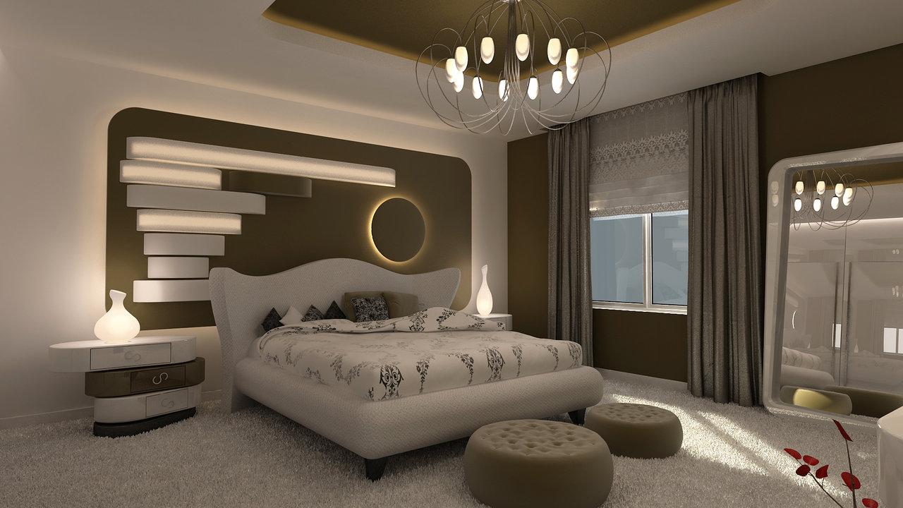 بالصور ديكور جبس غرف نوم كويتية , تشكية غرف كويتية فخمة 173 8