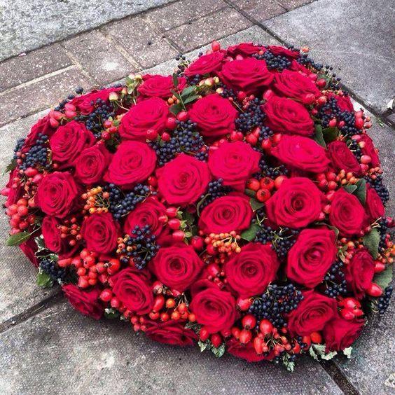 بالصور صوره ورده حمراء , اجمل باقات زهور للماسنجر 186 2