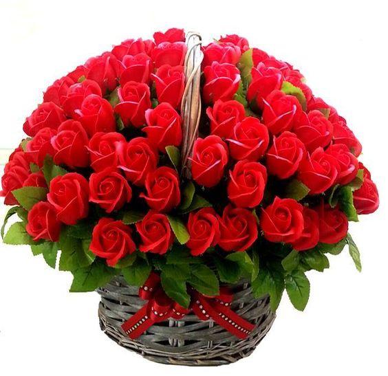 بالصور صوره ورده حمراء , اجمل باقات زهور للماسنجر 186 5