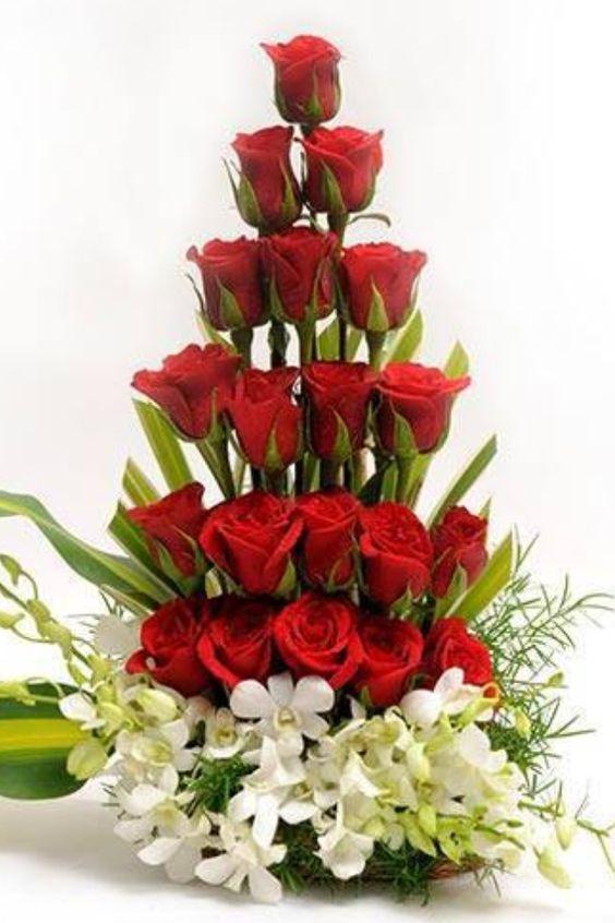 بالصور صوره ورده حمراء , اجمل باقات زهور للماسنجر 186 6