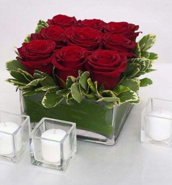 بالصور صوره ورده حمراء , اجمل باقات زهور للماسنجر 186 8