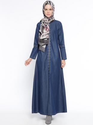 بالصور حجابات مخيطة جزائرية 2019 , جلباب و سلبتة جينز للفتيات 198 3