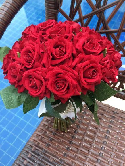 بالصور صوره ورد جوري , اروع باقة زهور بالون الاحمر 288 6