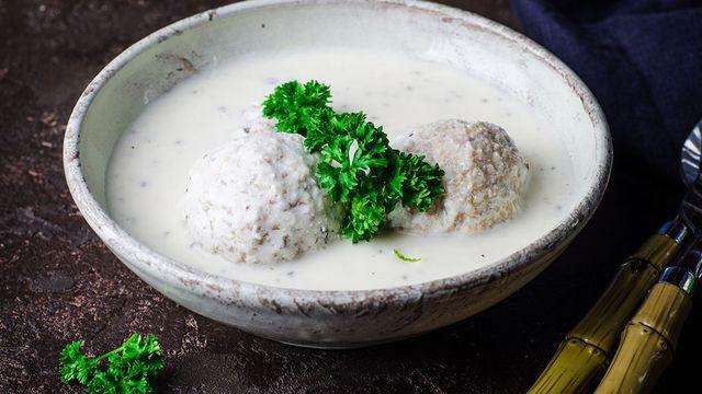 صورة طريقة الكبة باللبن , تحضير اطباق سورية شهية