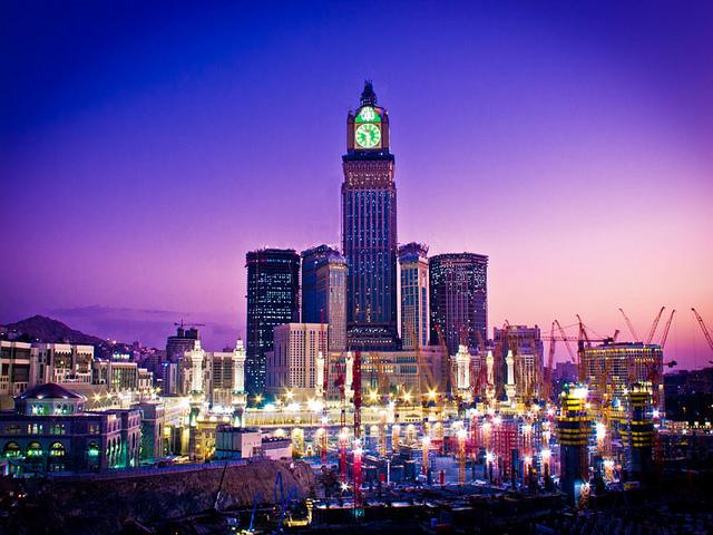 بالصور صور ساعة مكة , اجمل الصور لاكبر ساعة ببرج 1027 6