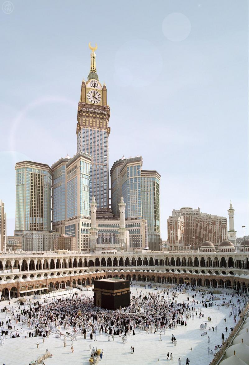 بالصور صور ساعة مكة , اجمل الصور لاكبر ساعة ببرج 1027 8