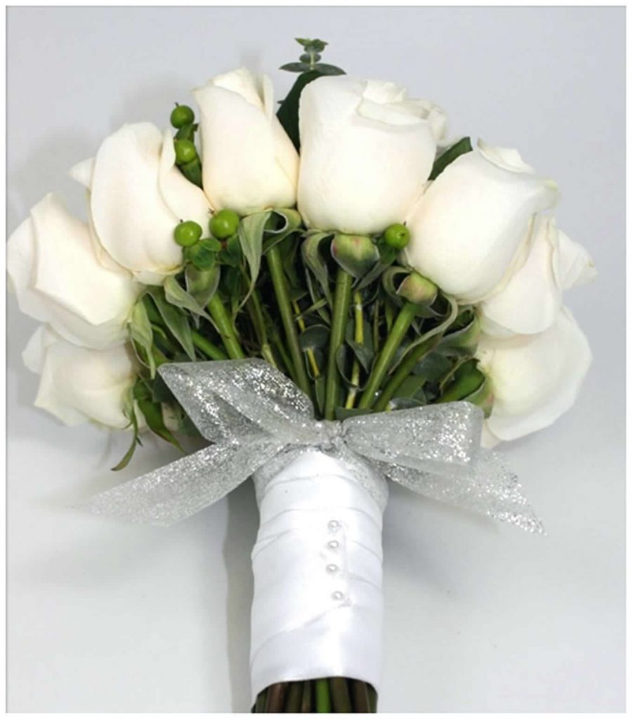 صورة صور ورود بيضاء , اروع بوكية ورد ابيض