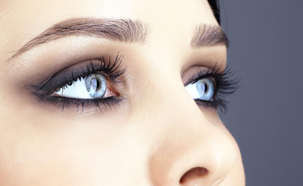 صورة صور عين , رسم عيون ملونة جميلة جدا
