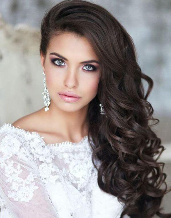 صوره صور شعر عروس , ان كنت عروسة فشاهدي ارقى تسريحات الشعر المناسبة لك