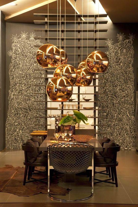 صور صور طاولة طعام , اجمل ديكور غرف سفرة مودرن