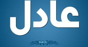 صوره صور اسم عادل , خلفيات مكتوبة عليها اسم ولد Adil