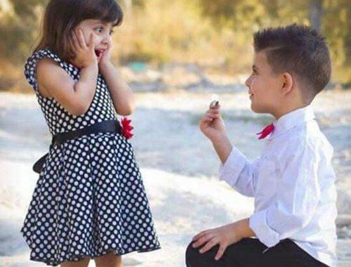 صوره صور رومانسيه للاطفال , اجمل اطفال نايس
