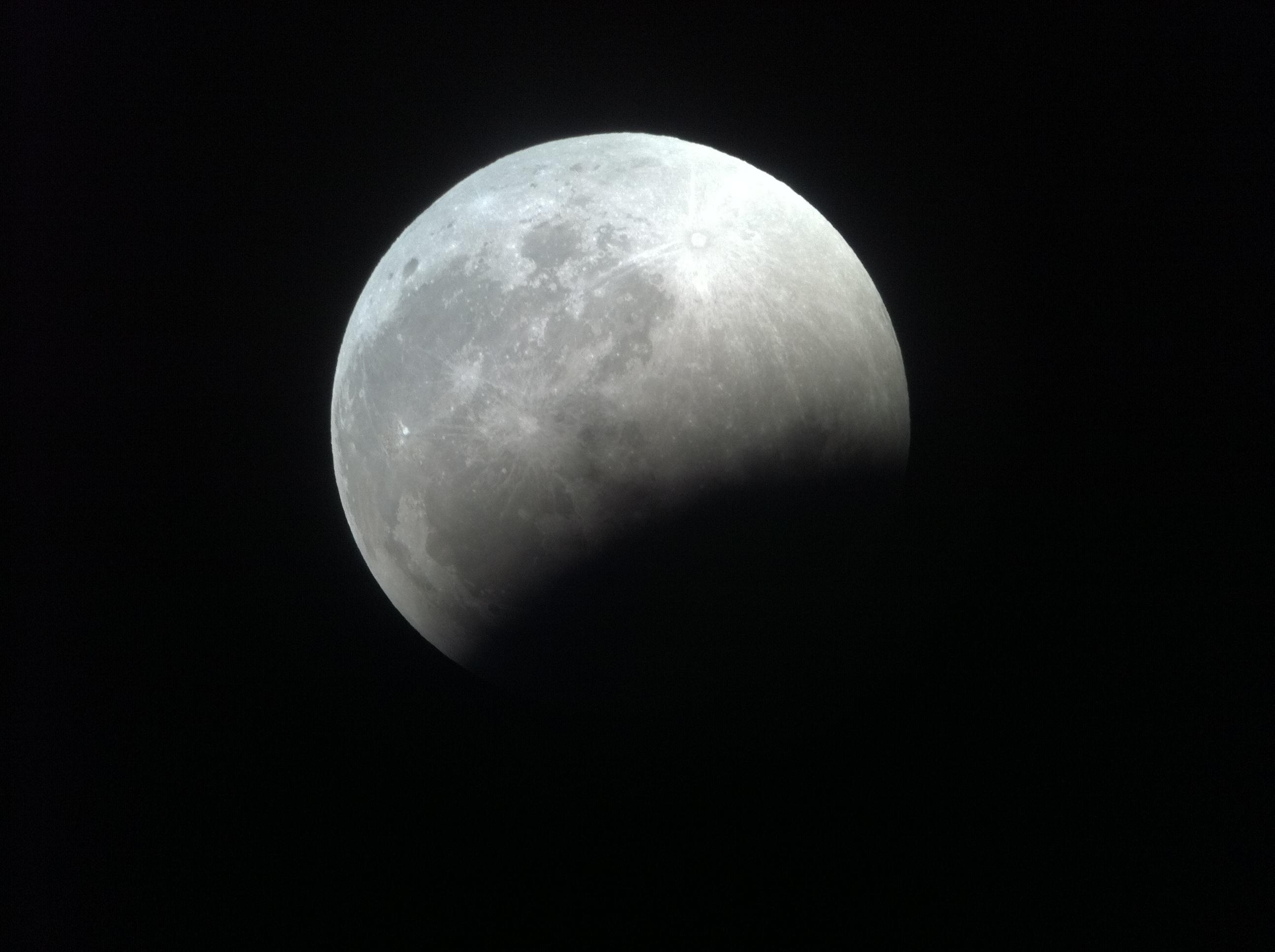 بالصور صور خسوف القمر , صورة واضحه ل خسوف القمر