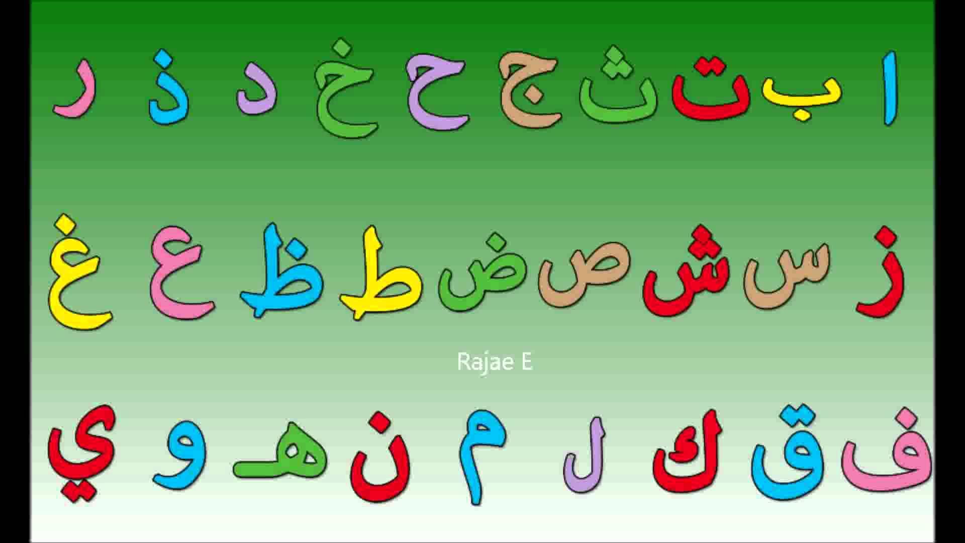 صور الحروف العربية صور حروف للاطفال صبايا كيوت