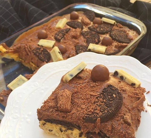 صورة حلا سهل بالصور حلى بالكيك الجاهز , طريقة عمل حلى الكيكة الجاهزة
