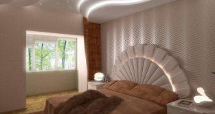 صوره ديكور جبس غرف نوم كلاسيك , تصاميم جبسن بورد ٢٠١٨