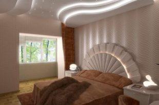 صورة ديكور جبس غرف نوم كلاسيك , تصاميم جبسن بورد ٢٠١٨