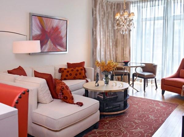 صور غرف معيشة عصرية , تصاميم غرف كورنر مميزة