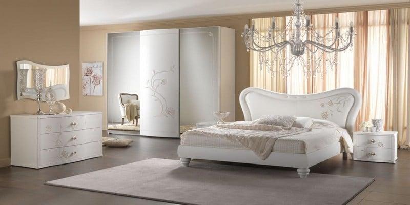 غرف نوم لون ابيض , غرف نوم لعشاق الهدوء - صبايا كيوت