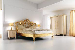 صوره اجمل تصاميم غرف النوم , غرف نوم باللون الذهبي