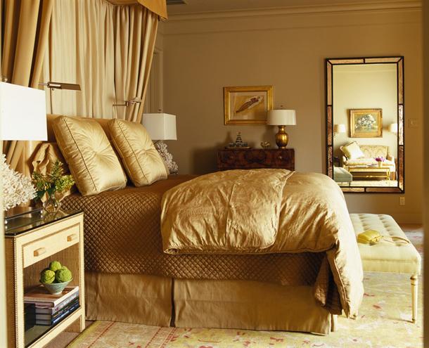 بالصور اجمل تصاميم غرف النوم , غرف نوم باللون الذهبي 3217 2