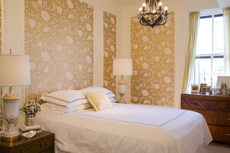 بالصور اجمل تصاميم غرف النوم , غرف نوم باللون الذهبي 3217 3