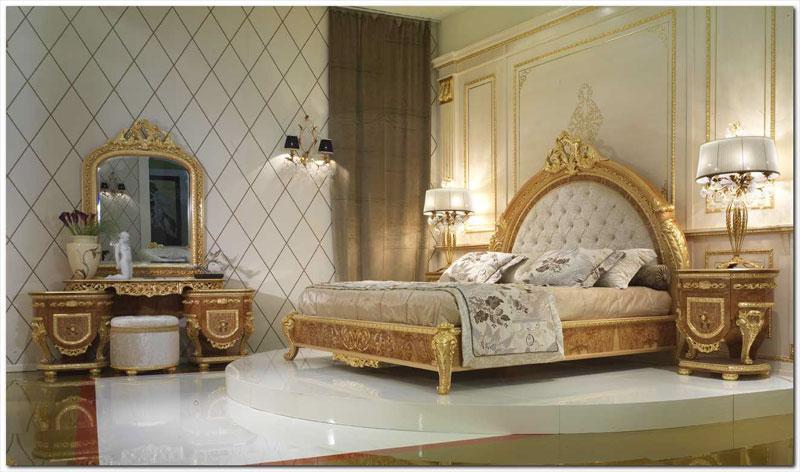 بالصور اجمل تصاميم غرف النوم , غرف نوم باللون الذهبي 3217 9