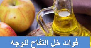 فوائد خل التفاح للوجه , كيف تتخلصين من مشاكل البشرة بخل التفاح