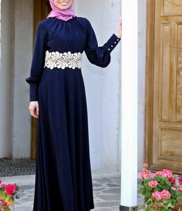 بالصور فساتين محجبات تركية صيفية , تصميمات تركية حديثة لفستان السهرة الصيفي المناسب للفتاة المحجبة 4842 4