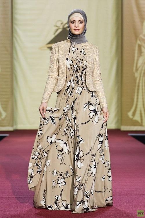 بالصور فساتين محجبات خروج , اروع فستان مناسب للخروج مخصص لكل بنت محجبة 4843 4