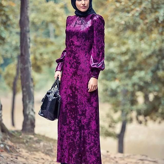صورة فساتين محجبات روعة , شوفي الفستان المناسب لك من هذه التشكيلة المميزة