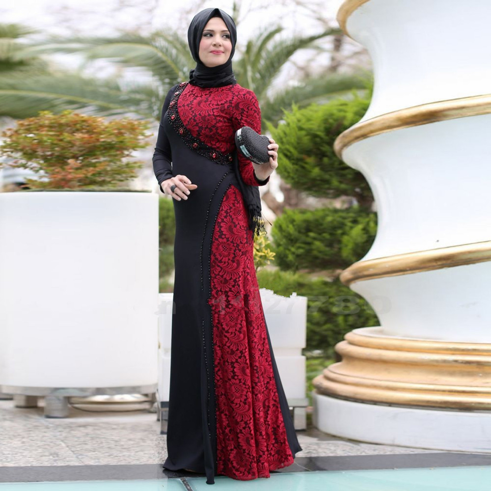 بالصور فساتين محجبات سهرة , شاهدي اروع واحدث فستان سهرات مناسب للمحجبة 4845 4