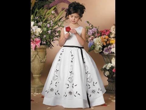 صورة فساتين زفاف للاطفال , اجمل فساتين للبنوتات