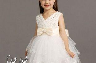 بالصور فساتين زفاف للاطفال , اجمل فساتين للبنوتات 5578 7 310x205