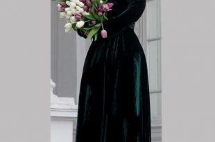 صوره تفصيل فساتين مخمل تفصيل فساتين انستقرام , اروع فستان للصبايا
