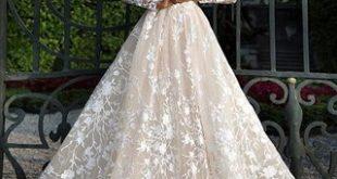 فساتين زفاف جميلة , احلى فستان باللون الابيض