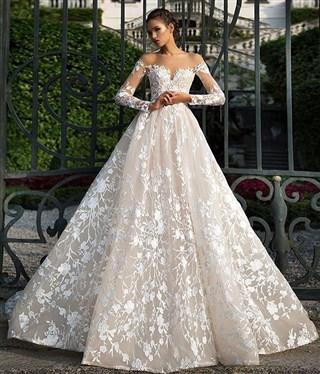 edad1e642a9f4 فساتين زفاف جميلة