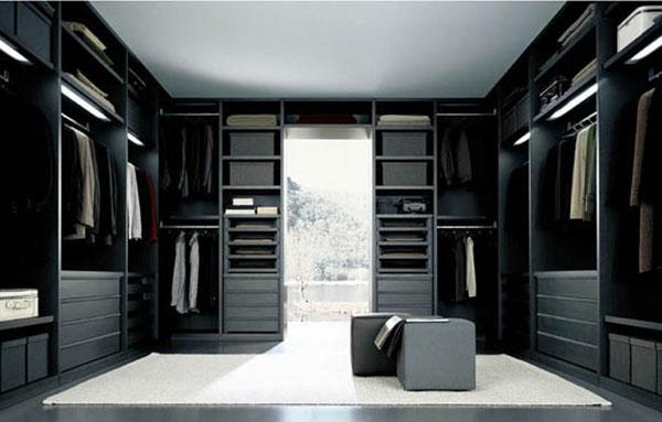 صورة غرف ملابس مودرن , اجمل ديكور لغرف النوم
