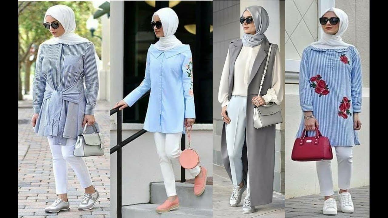 بالصور ملابس تركية للمحجبات , ازياء تركية جميلة تناسب حجابك 579 3