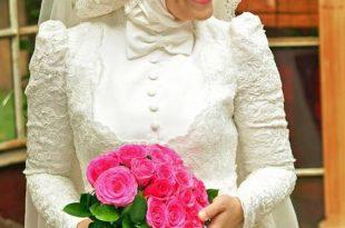 صوره ملابس اعراس , اروع تصميمات فساتين زفاف للمحجبات
