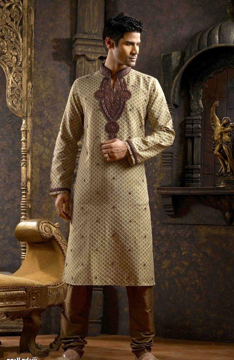 صورة ملابس هندية رجالية , ازياء شباب في عرس جديدة بالهند