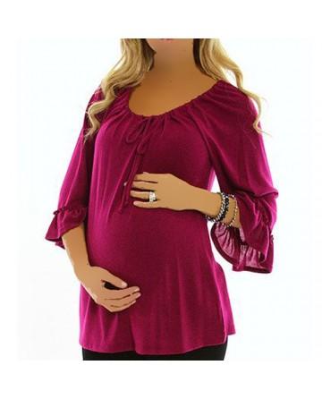 بالصور ملابس حوامل اون لاين , ارقي الموديلات للبس الحوامل 640 8