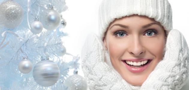صور العناية بالبشرة في الشتاء , كيف تحصلين علي بشرة رطبة في الشتاء