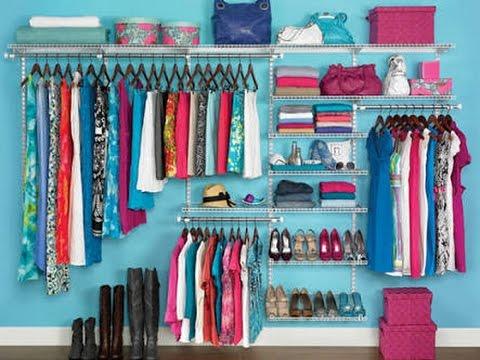 صور ترتيب خزانة الملابس , افكار جديدة لترتيب دولابك