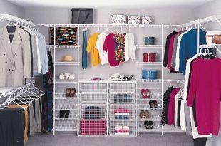 صورة ترتيب خزانة الملابس , افكار جديدة لترتيب دولابك