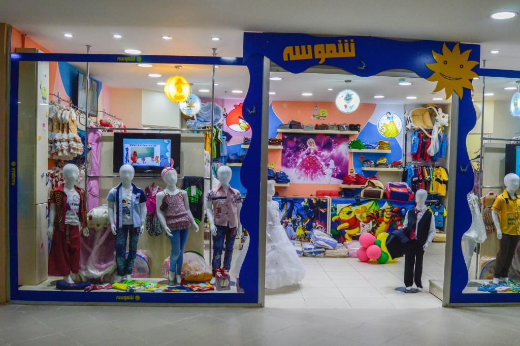 c5b5e9813 ديكورات محلات ملابس اطفال , تصميمات من داخل و الخارج - صبايا كيوت