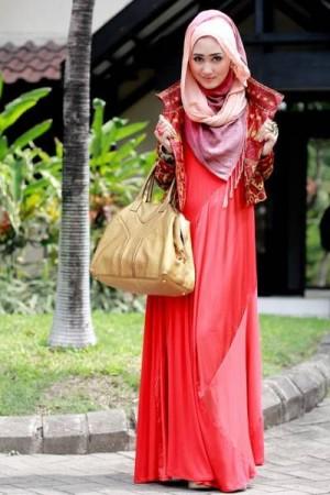 صور ملابس محجبات صيفية , ازياء علي الموضة للمحجبات
