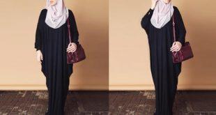 صورة ملابس محجبات صيفية , ازياء علي الموضة للمحجبات
